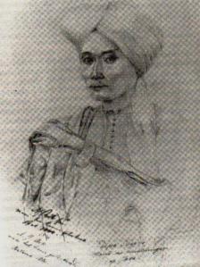 Lukisan Diponegoro Karya A.J. Bik