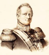 Baron H. Merkus de Kock (dilukis oleh F.V.A. Ridder de Stuers pada tahun 1849)