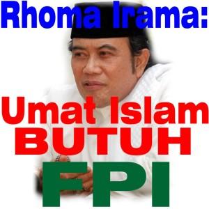 Rhoma Irama: Umat Islam Butuh FPI