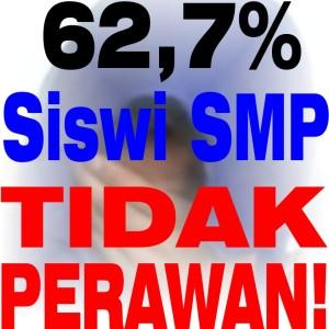 62,7 Persen Siswi SMP Tidak Perawan!