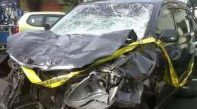 Mobil maut BMW X5 bernomor B 272 HR (Dok Polda Metro)