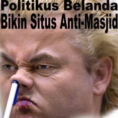 Geert Wilders - Politikus Belanda - Pembuat Situs Anti-Masjid