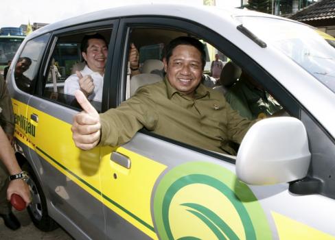 Presiden SBY Jadi Supir Bos Sugar Grup Company Gunawan Jusuf