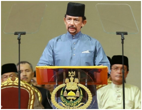 Pidato Sultan Brunei mengguncang dunia !