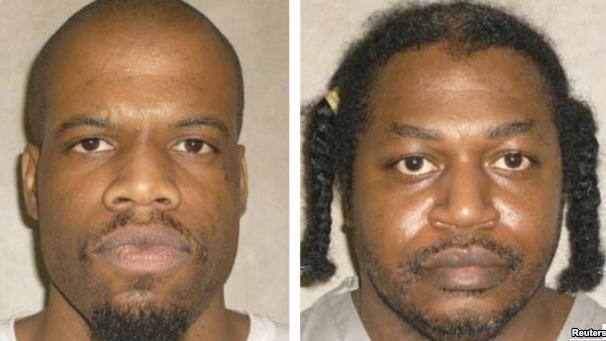 Terpidana hukuman mati di negara bagian Oklahoma, Clayton Lockett (kiri) dan Charles Warner (kanan) -- foto: voaindonesia.com