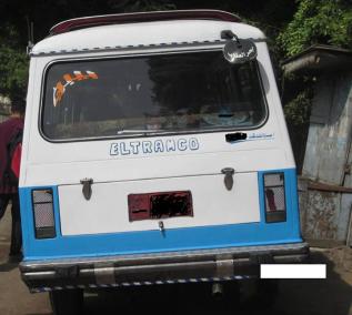 """Angkutan umum di Mesir yang warga setempat menyebutnya """"tamco"""""""